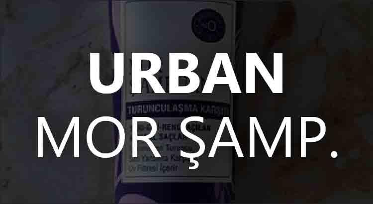 Urban Mor Şampuan