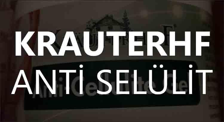 Krauterhof Anti Selülit Jel Ne İşe Yarar?